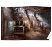 Jail - Eastern State Penitentiary - Sick Bay Poster