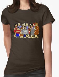 Modern (Stone Age) Family Womens Fitted T-Shirt