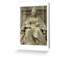 One Day In London : God Save The Queen Greeting Card