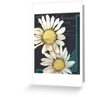 Daisy Chalkboard 1 Greeting Card