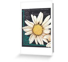 Chalkboard Daisy 2 Greeting Card