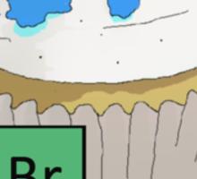 Baking Bad cupcake Sticker
