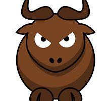 Cartoon Bull by kwg2200