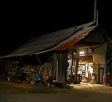 Hull Oaks Work Shed by Charles & Patricia   Harkins ~ Picture Oregon
