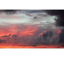 Clouds At Sunrise Photographic Print