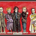 Sherlock Characters by Katerina Karapencheva