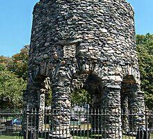 The Old Stone Mill, Newport Rhode Island by Jane Neill-Hancock