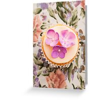 Decorated cupcake Greeting Card