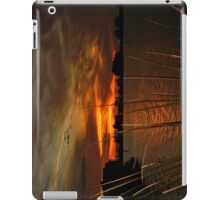 Fiery Christmas Sunset iPad Case/Skin