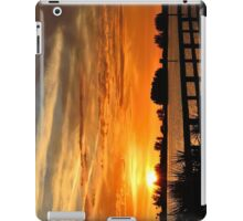 Golden Christmas Sunset iPad Case/Skin