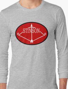 Stinson Aircraft Company Logo Long Sleeve T-Shirt