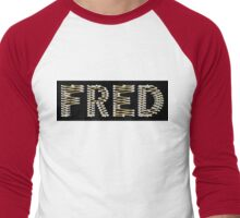 Copper and Chrome Animation - FredPereiraStudios.com_Page_02 Men's Baseball ¾ T-Shirt