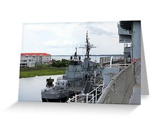 USS Laffey Greeting Card