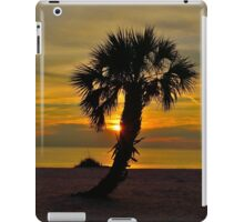 Lone Palm @ Sunset iPad Case/Skin