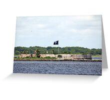 Castle Pinckney Greeting Card