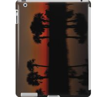 Palms In Crimson After Glow iPad Case/Skin