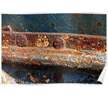 rusty closeup Poster
