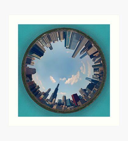 Ringworld Chicago Art Print