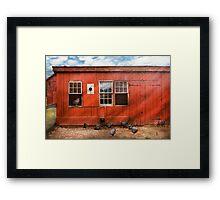 Animal - Bird - Bird watching Framed Print