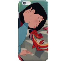 Kiss the dragon iPhone Case/Skin