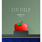Minimalist Citi Field - New York by pootpoot