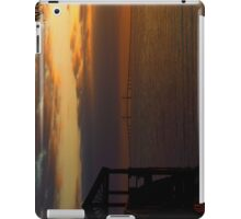 Sunshine Skyway At Sunset iPad Case/Skin