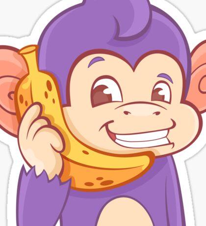 Call me! Funky Monkey Sticker