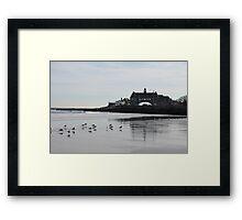 Narragansett Towers Framed Print