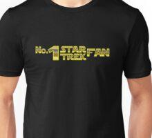 Number 1 Star Trek Fan. Unisex T-Shirt
