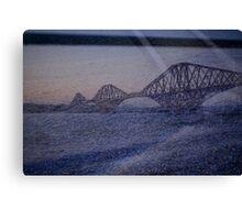 Forth Rail Bridge at Sunset #7 Canvas Print