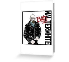 Breaking Bad Album Cover Greeting Card