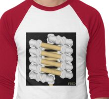 Copper and Chrome Animation - FredPereiraStudios.com_Page_14 Men's Baseball ¾ T-Shirt