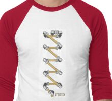 Copper and Chrome Animation - FredPereiraStudios.com_Page_22 Men's Baseball ¾ T-Shirt