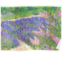 A Little Lavender, Provence Poster