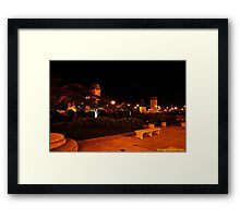Chicago Park @ Night Framed Print