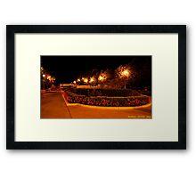 Millennium Park Entrance @ Night Framed Print