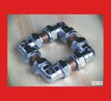 Copper and Chrome Smart Art - FredPereiraStudios.com_Page_02 One Piece - Long Sleeve
