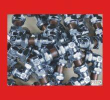 Copper and Chrome Smart Art - FredPereiraStudios.com_Page_05 One Piece - Short Sleeve