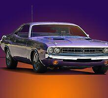1971 Dodge Challenger R/T by DaveKoontz