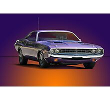1971 Dodge Challenger R/T Photographic Print