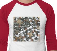 Copper and Chrome Smart Art - FredPereiraStudios.com_Page_06 Men's Baseball ¾ T-Shirt