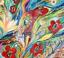 Original painting fragment 22 by Elena Kotliarker