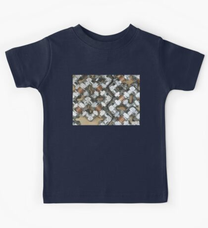 Copper and Chrome Smart Art - FredPereiraStudios.com_Page_07 Kids Tee