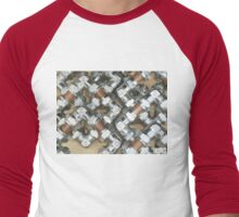 Copper and Chrome Smart Art - FredPereiraStudios.com_Page_07 Men's Baseball ¾ T-Shirt