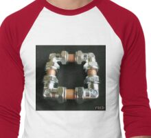 Copper and Chrome Smart Art - FredPereiraStudios.com_Page_09 Men's Baseball ¾ T-Shirt