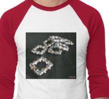Copper and Chrome Smart Art - FredPereiraStudios.com_Page_10 Men's Baseball ¾ T-Shirt