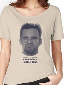 Turtle Face Women's Relaxed Fit T-Shirt