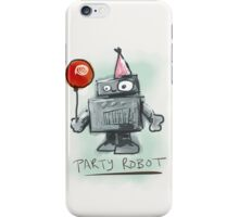 party robot iPhone Case/Skin