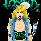 Old-School Thrash Metal Chick by MetalheadMerch