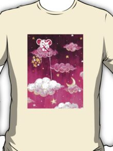 Catching Stars - Rondy the Elephant collecting bright stars T-Shirt